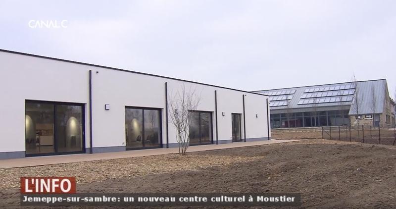 Un nouveau centre culturel à Jemeppe-sur-Sambre (Reportage de Canal C)