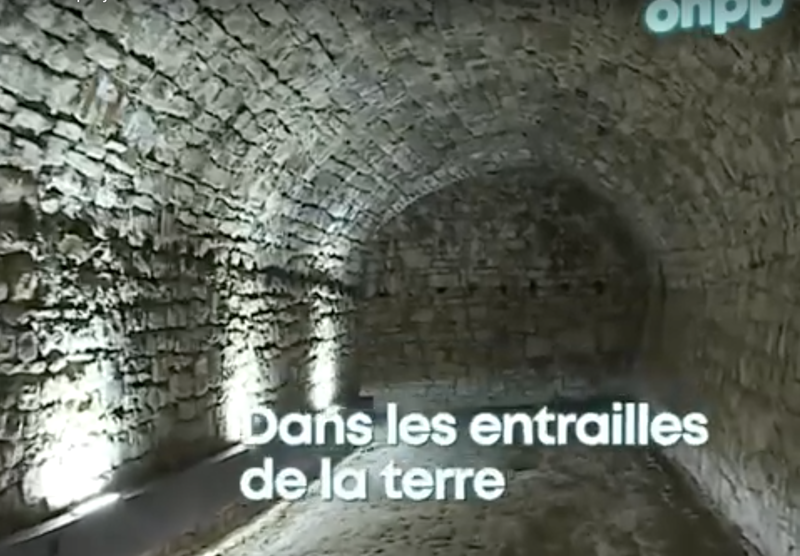 The underground passages of the Citadel in Namur – RTBF