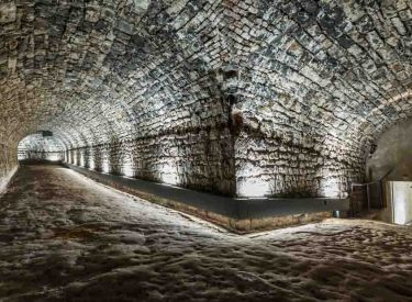 The tunnels beneath the Citadel of Namur