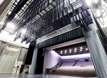 La Louvière's newly refurbished theatre